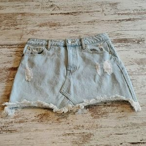 Juniors Forever 21 Denim Skirt Size Small